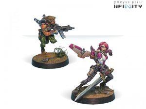 Corvus Belli Infinity  Non-Aligned Armies - NA2 Yuan Yuan (Rifle, Chain Rifle) - 280703-0131 - 2807030001315