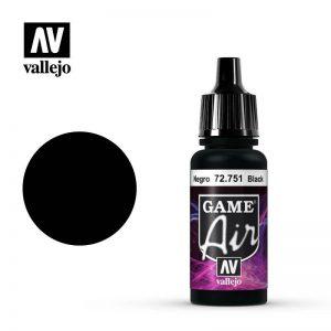 Vallejo   Game Air Game Air: Black - VAL72751 - 8429551727518