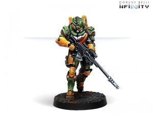 Corvus Belli Infinity  Yu Jing Haidao Special Support Group (MULTI Sniper Rifle) - 281306-0764 - 2813060007647