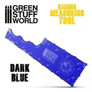 Green Stuff World   Tapes & Measuring Sticks Gaming Measuring Tool - Dark Blue - 8435646500997ES - 8435646500997
