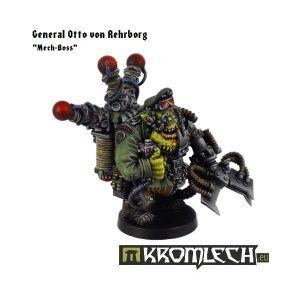 Kromlech   Orc Model Kits Mech-Boss General Otto Von Rehrborg - KRM053 - 5902216111769