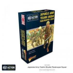 Warlord Games Bolt Action  Japan (BA) Japanese Army Teishin Shudan Paratrooper squad - 402216002 - 5060572508033