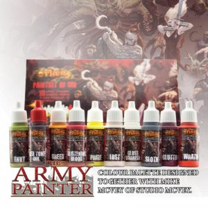 The Army Painter   Paint Sets The Others: Paint Set of Sin - APWP8010 -