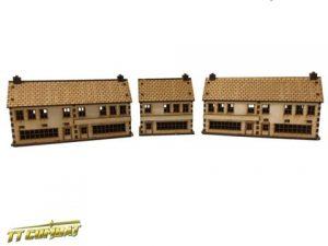 TTCombat   World War Scenics Shops Set - WAR006 - 5060504041539
