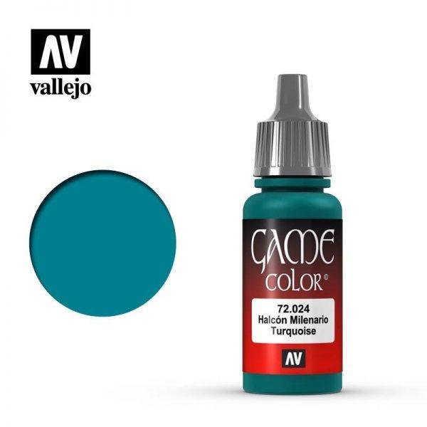 Vallejo   Game Colour Game Color: Turquiose - VAL72024 - 8429551720243