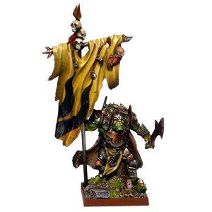 Mantic Kings of War  Orcs Orc Flagger - MGKWO75-1 - 5060208863482