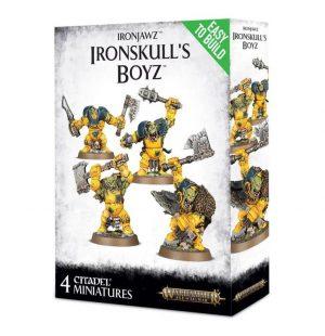 Games Workshop (Direct) Age of Sigmar  Orruk Warclans Ironjawz Ironskull's Boyz - 99120209039 - 5011921085491
