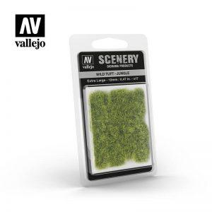 Vallejo   Vallejo Scenics AV Vallejo Scenery - Wild Tuft - Jungle, XL: 12mm - VALSC428 - 8429551986267