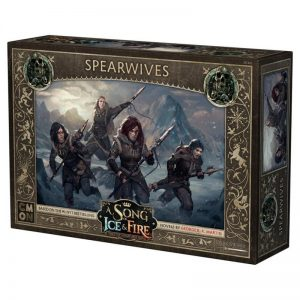 Cool Mini or Not A Song of Ice and Fire  Free Folk A Song of Ice and Fire: Free Folk Spearwives - CMNSIF405 - 889696008572