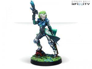 Corvus Belli Infinity  Non-Aligned Armies - NA2 Kriigel Agents (Submachine Gun) - 280739-0783 - 2807390007835