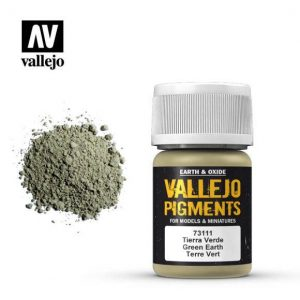 Vallejo   Pigments Vallejo Pigment - Green Earth - VAL73111 - 8429551731119