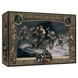 Cool Mini or Not A Song of Ice and Fire  Free Folk A Song of Ice and Fire: Cave Dweller Savages - CMNSIF408 - 889696008985