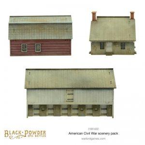 Warlord Games Black Powder Epic Battles  Black Powder Epic Battles Black Powder Epic Battles: ACW American Civil War Scenery Pack - 318814002 - 5060572509344
