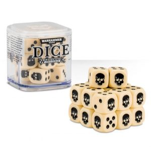 Games Workshop (Direct)   D6 Citadel Dice Cube - Bone - 99229999149 - 5011921068203Bn