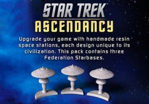 Battlefront Star Trek: Ascendancy  Star Trek Ascendancy Star Trek Ascendancy: Federation Starbases - ST029 - 9420020237384