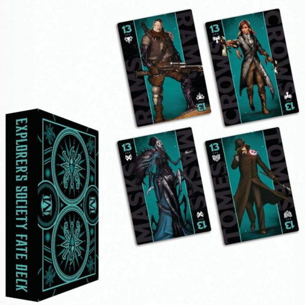Wyrd Malifaux  The Explorer's Society Explorer's Society Faction Fate Deck - WYR23027 - 812152033207