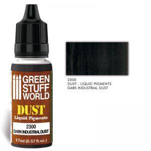 Green Stuff World   Liquid Pigments Liquid Pigments DARK INDUSTRIAL DUST - 8436574506594ES - 8436574506594