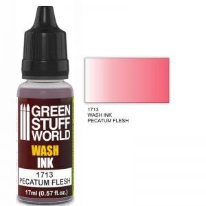 Green Stuff World   Wash Ink Wash Ink PECATUM FLESH - 8436574500721ES - 8436574500721
