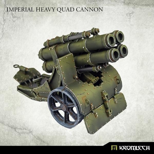 Kromlech   Imperial Guard Model Kits Imperial Heavy Quad Cannon (1) - KRM160 - 5908291071196