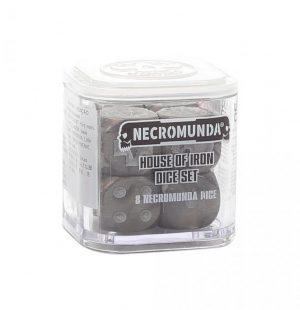 Games Workshop Necromunda  Necromunda Necromunda: House Of Iron Dice - 99220599018 - 5011921152384