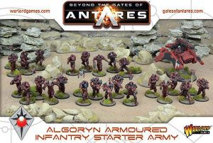 Warlord Games Beyond the Gates of Antares  SALE! Algoryn Starter Army - 509911002 - 5060393706069