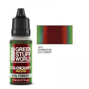 Green Stuff World   Chameleon Paints Chameleon EVIL FOREST - 8436574500332ES - 8436574500332