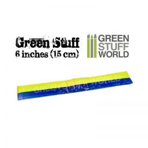 Green Stuff World   Modelling Putty & Green Stuff Green Stuff Tape 6 inches - 8436554365036ES - 8436554365036