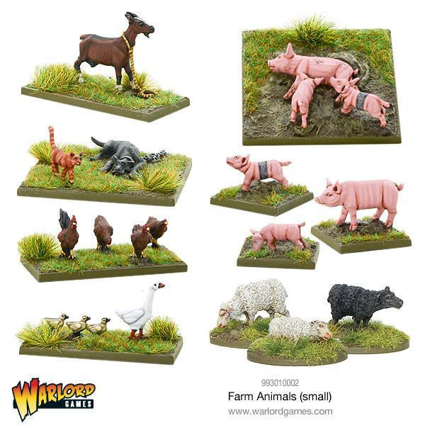 Warlord Games   Warlord Games Terrain Farm Animals (small) - 993010002 - 5060393706519