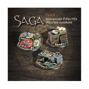 Gripping Beast SAGA  SAGA SAGA Objective Markers 2 - SAGAOM2 -
