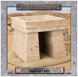 Gale Force Nine   Battlefield in a Box Forgotten City - Pharaoh's Gate - BB903 - 9420020218239