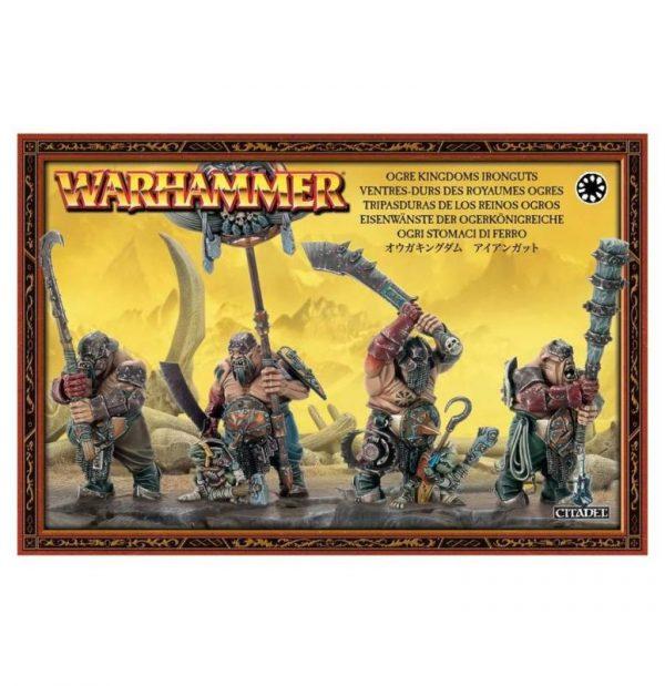 Games Workshop (Direct) Age of Sigmar  Ogor Mawtribes Ironguts - 99120213014 - 5011921028573