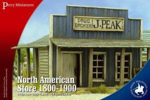 Perry Miniatures   Perry Miniatures Terrain North American Store 1800-1900 - RPB2 - RPB2