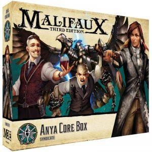 Wyrd Malifaux  The Explorer's Society Explorer's Society Anya Core Box - WYR23808 - 812152033016