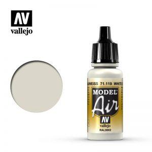 Vallejo   Model Air Model Air: White Grey RAL9002 - VAL119 - 8429551711197