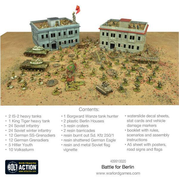 Warlord Games Bolt Action  Germany (BA) Bolt Action: The Battle for Berlin - 409910020 - 5060393708292