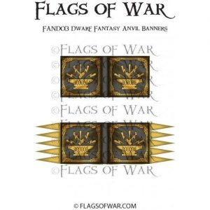 North Star Oathmark  Oathmark Dwarf Fantasy Anvil Banners - FAND03 -