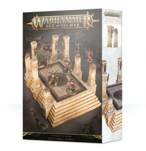 Games Workshop   Age of Sigmar Terrain Dominion of Sigmar: Shattered Temple - 99120299053 - 5011921118458