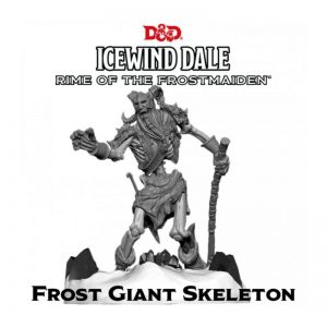 Gale Force Nine Dungeons & Dragons  D&D Miniatures D&D: Icewind Dale: Rime of the Frostmaiden - Frost Giant Skeleton - GFN71127 - 9420020251007