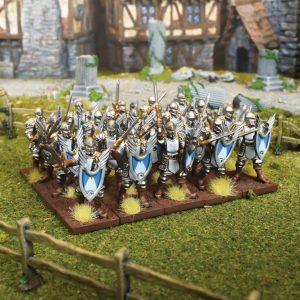 Mantic Kings of War  Forces of Basilea Basilean Men-At-Arms Regiment - MGKWB301 - 5060469664378