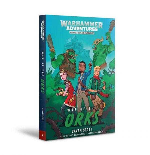Games Workshop   Warhammer 40000 Books Warped Galaxies: War of The Orks (softback) - 60100181730 - 9781781939628