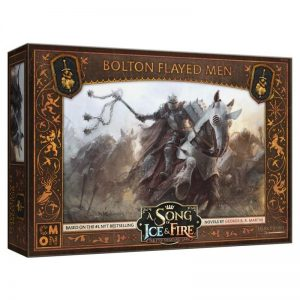 Cool Mini or Not A Song of Ice and Fire  Neutral A Song of Ice and Fire: Bolton Flayed Men - CMNSIF503 - 889696007896