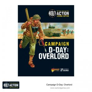 Warlord Games Bolt Action  Bolt Action Books & Accessories Bolt Action Campaign: D-Day: Overlord - 401010010 - 9781472838964