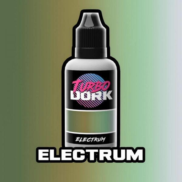 Turbo Dork   Turbo Dork Electrum Turboshift Acrylic Paint 20ml Bottle - TDELCCSA20 - 631145994437