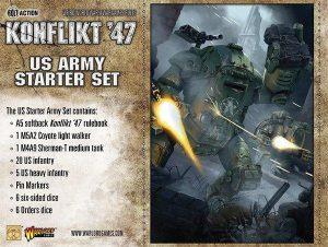 Warlord Games Konflikt '47  SALE! US K47 Starter Set - 451510401 - 5060393704201