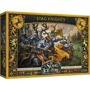 Cool Mini or Not A Song of Ice and Fire  House Baratheon A Song of Ice and Fire: Baratheon Stag Knights - CMNSIF803 - 889696010117