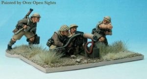 Perry Miniatures   Perry Miniatures Vickers Machinegun and 4 crew - WW10 -