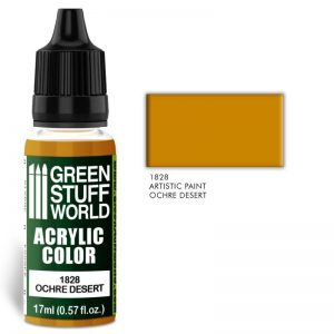 Green Stuff World   Acrylic Paints Acrylic Color OCHRE DESERT - 8436574501872ES - 8436574501872