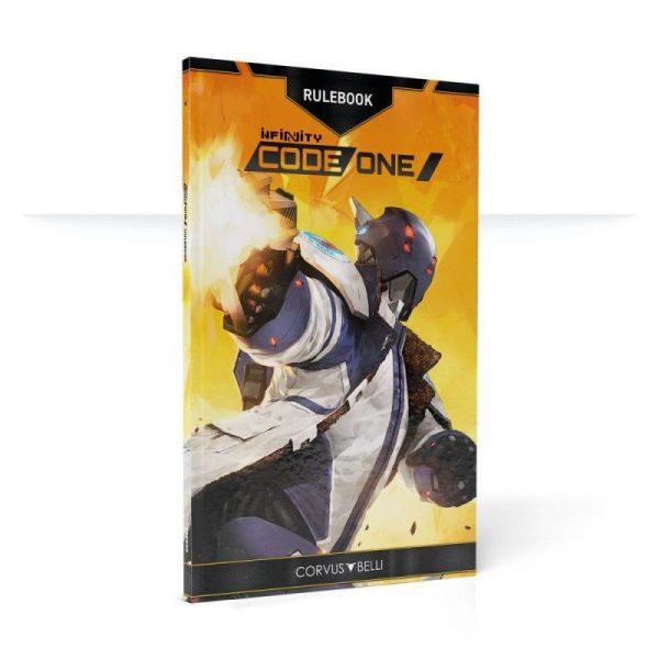 Corvus Belli Infinity  Infinity Essentials Infinity: Code One Rulebook - English - 2288803 - 2888030000003