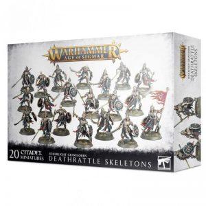 Games Workshop Age of Sigmar  Soulblight Gravelords Soulblight Gravelords Deathrattle Skeletons - 99120207091 - 5011921139057