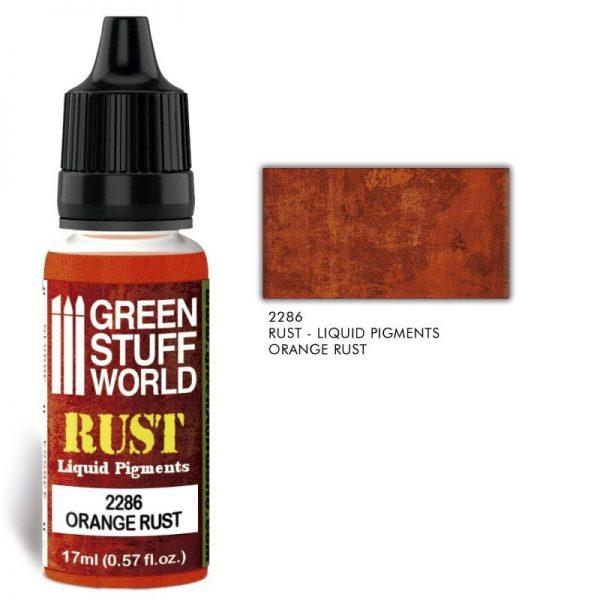 Green Stuff World   Liquid Pigments Liquid Pigments ORANGE RUST - 8436574506457ES - 8436574506457